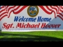 Welcome Home Michael Hoover